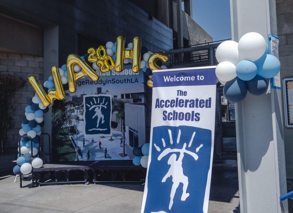 Wallis Annenberg High School receives 6 Year WASC Accreditation.